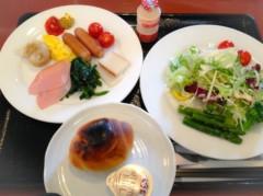 小林千恵 公式ブログ/朝食ばっちり。 画像1