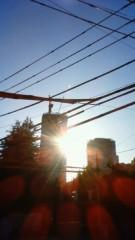 秋本奈緒美 公式ブログ/都会の綺麗な秋の夕日 画像1