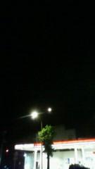 秋本奈緒美 公式ブログ/あっ。月。 画像1