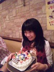 石井春花 公式ブログ/雨蘭咲木子さんの誕生日☆ 画像1