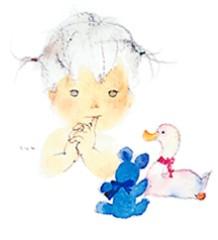 石井春花 公式ブログ/いわさきちひろさん☆の絵です。 画像2