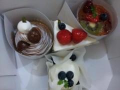 石井春花 公式ブログ/ケーキをね、 画像1