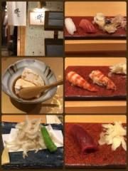橋本かれん 公式ブログ/美味しいお鮨 画像1