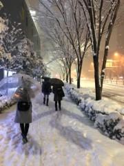 橋本かれん 公式ブログ/雪だぁ 画像1