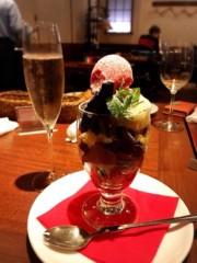 橋本かれん 公式ブログ/お肉と、パフェと、シャンパン 画像2