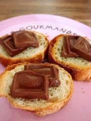 橋本かれん 公式ブログ/フランスパン  チョコ 画像1