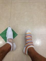 梅澤悠 公式ブログ/靴下あるある 画像1