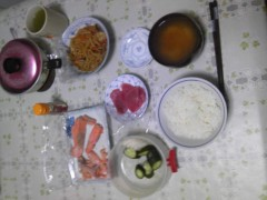 岡元慶太 公式ブログ/早い朝飯 画像1