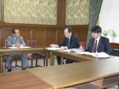 木内孝胤 公式ブログ/練馬区長が陳情にお見えになりました。 画像1