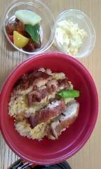 猫柳ロミオ 公式ブログ/四川風焼き鳥丼 画像1