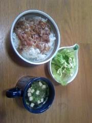 猫柳ロミオ 公式ブログ/牛丼 画像1