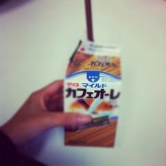 房みどり 公式ブログ/カフェオーレの歌〜房ちゃんver.〜 画像1