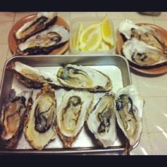 房みどり 公式ブログ/牡蠣! 画像1