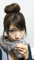 石田美里 公式ブログ/今日はお団子ヘア☆ 画像1