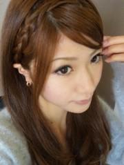 石田美里 公式ブログ/編み込み! 画像1