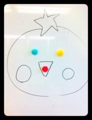 辻詩音 公式ブログ/事務所でおえかき 画像1
