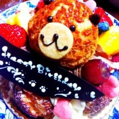 辻詩音 公式ブログ/くまケーキ 画像1