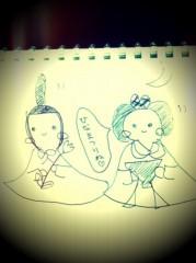 辻詩音 公式ブログ/ひな人形を描きました。 画像1