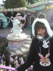 猪野由梨佳 公式ブログ/Disneyロケ。 画像3