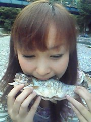 猪野由梨佳 公式ブログ/ニジマス釣り。 画像2