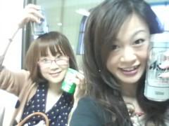 佐久間恵 公式ブログ/駅ホームの待合室で… 画像1