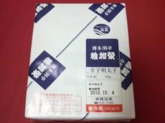 佐久間恵 公式ブログ/明太子とシュシュ。 画像1