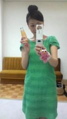 佐久間恵 公式ブログ/控え室にて…今朝の私。 画像1