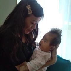 佐久間恵 公式ブログ/実は…赤ちゃん産みました。 画像2