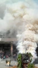 佐久間恵 公式ブログ/護摩焚き。 画像2
