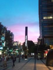 佐久間恵 公式ブログ/昨日の夕焼け空。 画像1