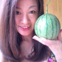 佐久間恵 公式ブログ/すいか。 画像1