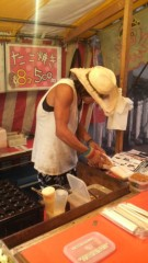 佐久間恵 公式ブログ/イケメンのたこ焼き屋さん。 画像2