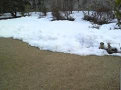 佐久間恵 公式ブログ/また雪が… 画像1