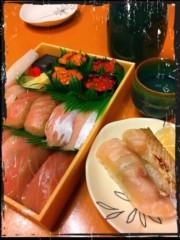 みわちづる 公式ブログ/寿司 画像1