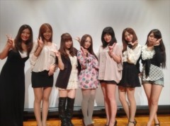疋田紗也 公式ブログ/7×7映画祭舞台挨拶(^o^) 画像1