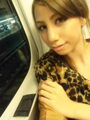 相川イオ 公式ブログ/帰宅新幹線なう 画像1