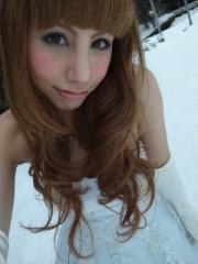 相川イオ 公式ブログ/雪の中でウエディングドレス♪♪ 画像1